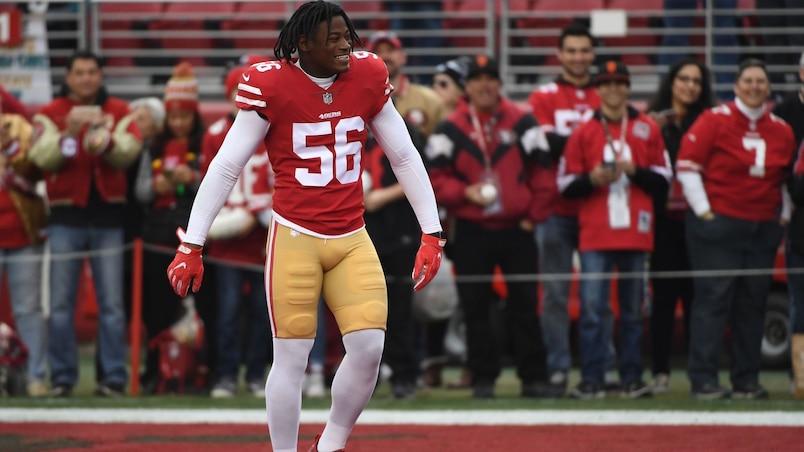 NFL : Reuben Foster suspendu deux matchs