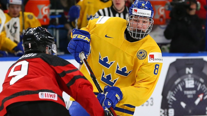 Rasmus Dahlin fait saliver son futur instructeur