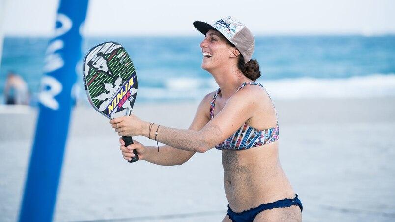 Beach tennis Marie-Pier