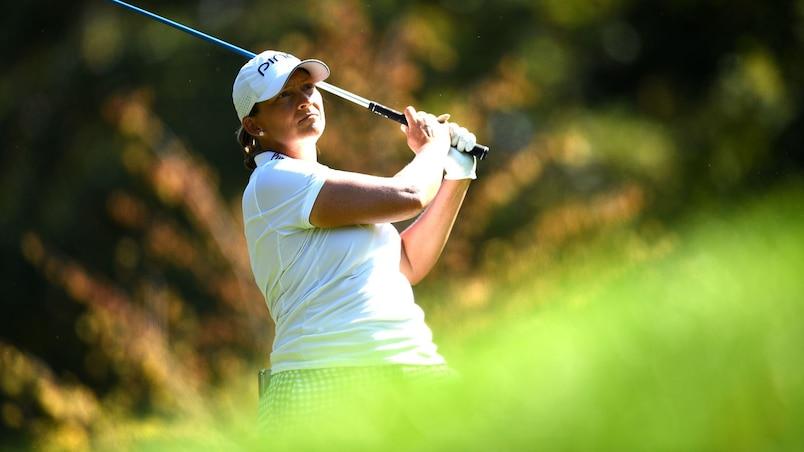 Golf : Amy Olson s'effondre, Angela Stanford triomphe