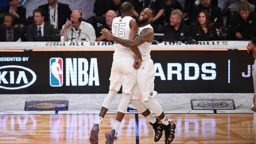 Kevin Durant et LeBron James