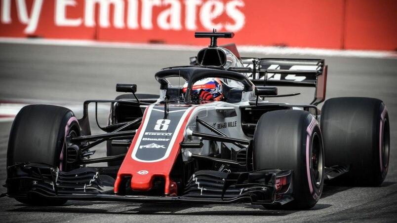 Romain Grosjean et Kevin Magnussen restent chez Haas en 2019