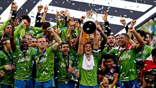 Les Sounders raflent la Coupe MLS!