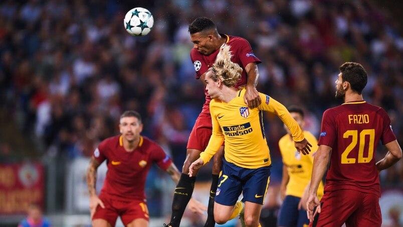 L'Atletico de Madrid neutralisé par la Roma