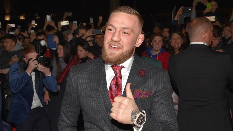 World premiere of Conor McGregor Notorious