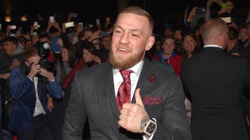 World premiere of Conor McGregor Notorious