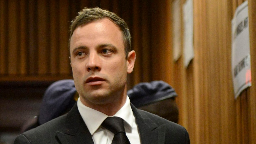 South African Olympic and Paralympic track star Oscar Pistorius attends his sentencing at the North Gauteng High Court in Pretoria