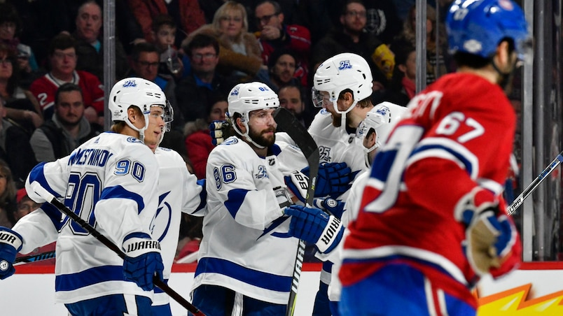 Lightning vs Canadiens