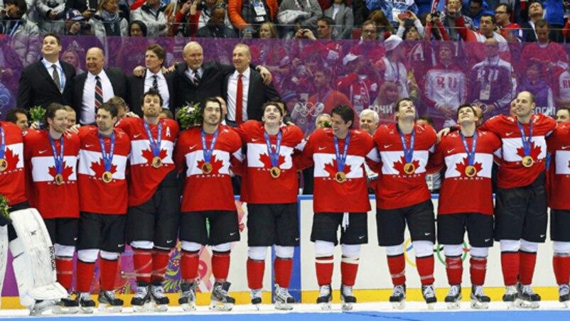 Et voilà, l'or au Canada!