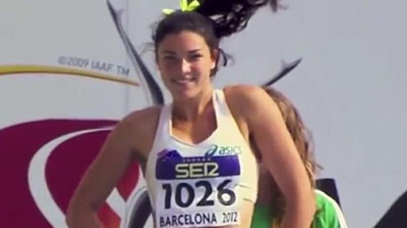 La sympathique coureuse de haies de retour à Rio!