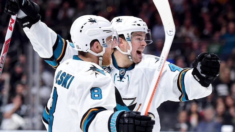 Les Sharks surprennent les Kings