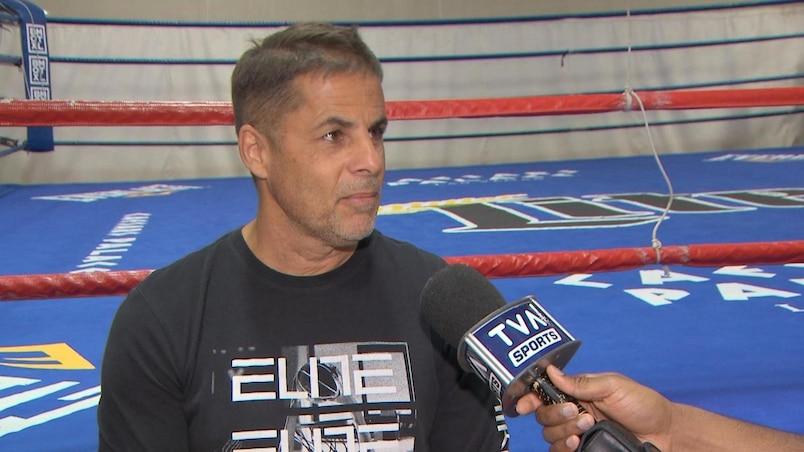 Un ring de boxe tout droit sorti d'Hollywood...à Montréal
