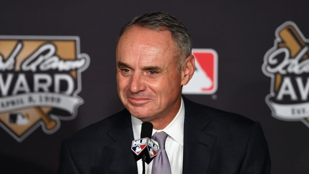 Le commissaire du baseball majeur, Rob Manfred