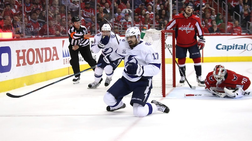 Alex Killorn soulève le Lightning