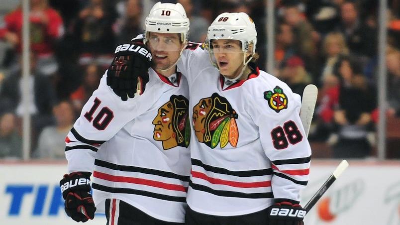 NHL: Chicago Blackhawks at Anaheim Ducks