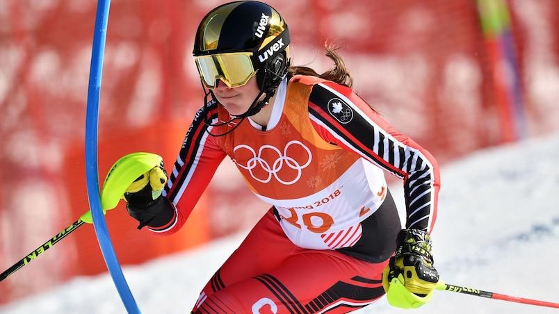 Ski alpin : le Canada éliminé en huitièmes de finale à l'épreuve par équipes