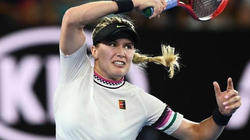 Eugenie Bouchard goûte à la médecine de Serena Williams