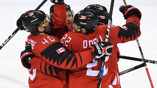 Olympiques: le Canada dans le carré d'as