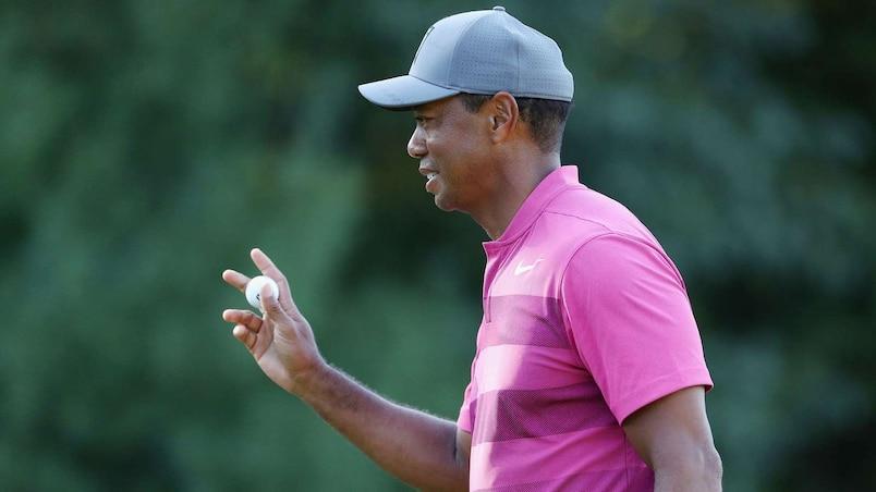 Tiger Woods fait un bond de 36 rangs