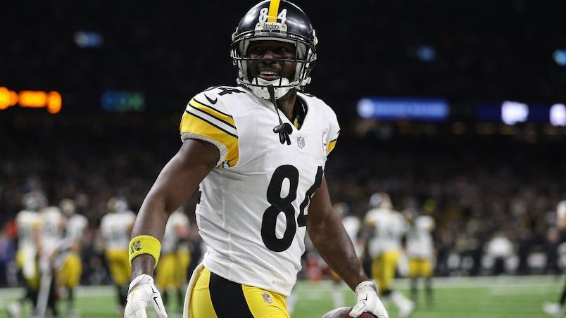 Antonio Brown fait ses adieux aux Steelers sur Twitter