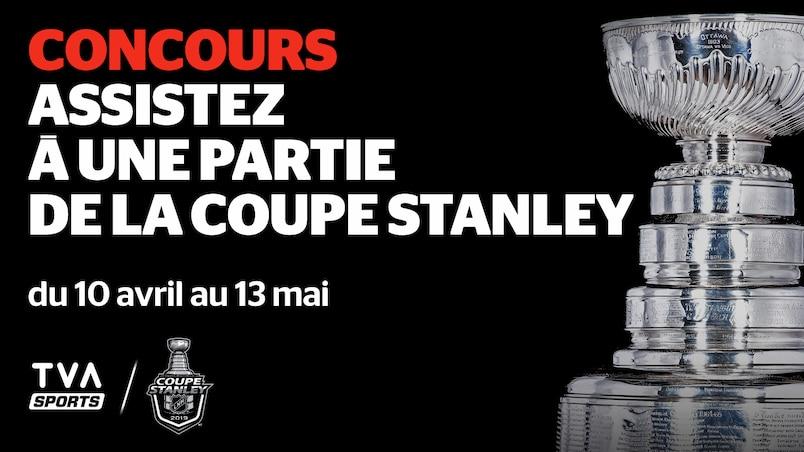 Concours: assistez au troisième match de la finale de la Coupe Stanley