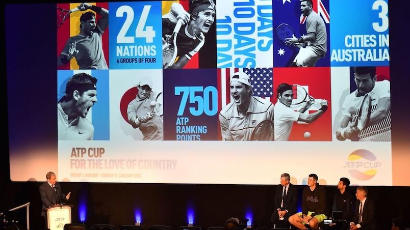 L'ATP frappe fort pour sa compétition par équipes