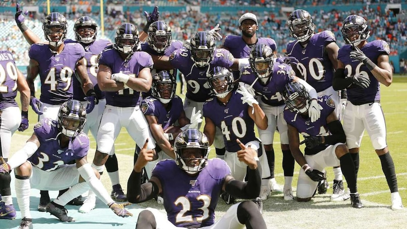 Baltimore Ravens v�Miami Dolphins