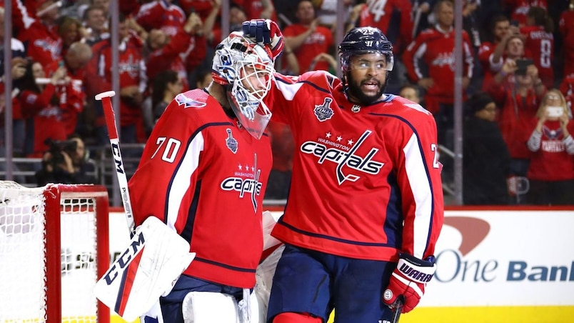 Braden Holtby et Devante Smith-Pelly