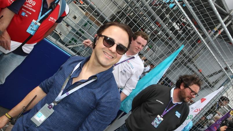 Felipe Massa avec Venturi en Formule électrique