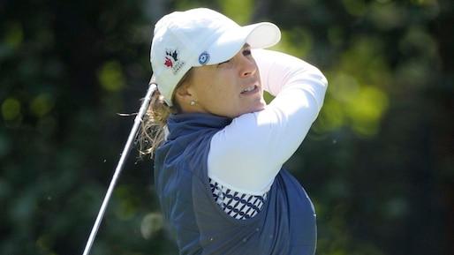 Golf: Anne-Catherine Tanguay fait un bond de plusieurs places au classement