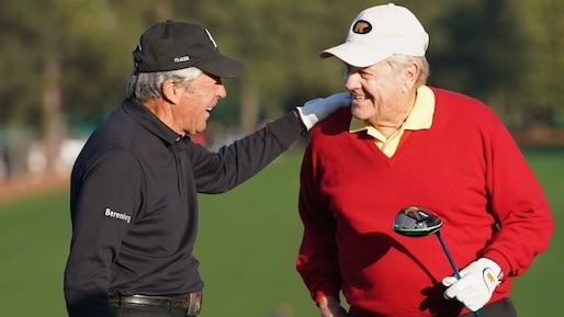 Jack Nicklaus et Gary Player en quête de solutions pour le golf
