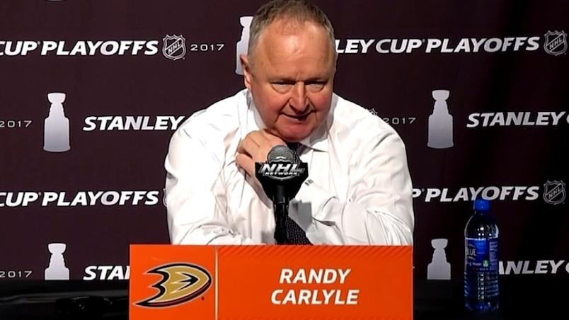 Les Ducks ont manqué d'énergie dès le départ, croit Randy Carlyle