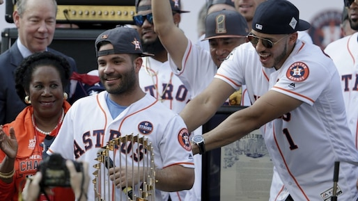 Houston Astros Victory Parade