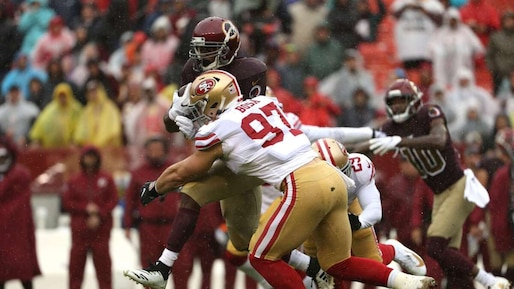 San Francisco 49ers v�Washington Redskins