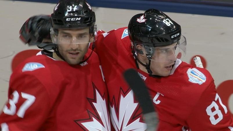 #CMH2016: Crosby et le Canada frappent en premier