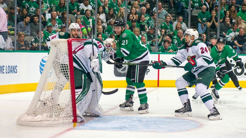 NHL: Stanley Cup Playoffs-Minnesota Wild at Dallas Stars