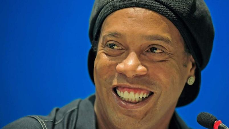 Ronaldinho en ville cet été