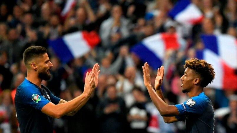 Euro 2020: la France surclasse l'Albanie