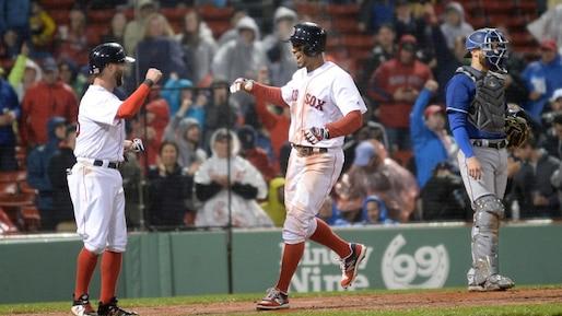 Les Red Sox balaient les Rangers
