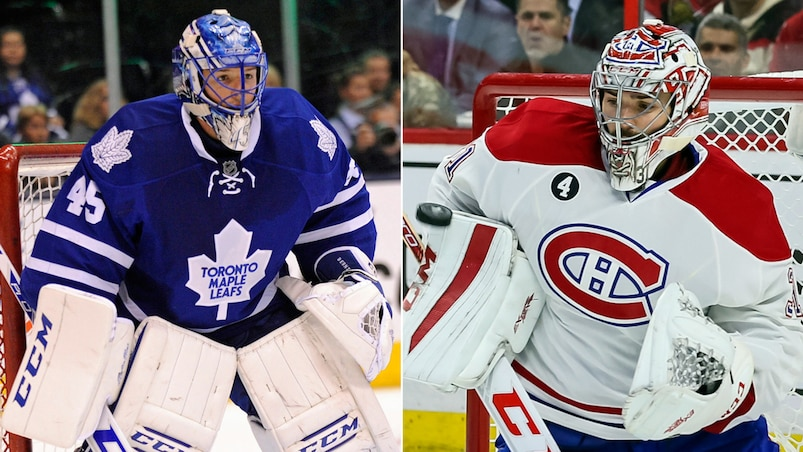 Devant le filet : Bernier contre Price
