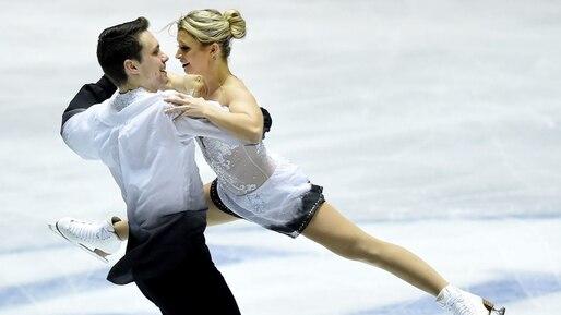 Kirsten Moore-Towers et Michael Marinaro en bronze