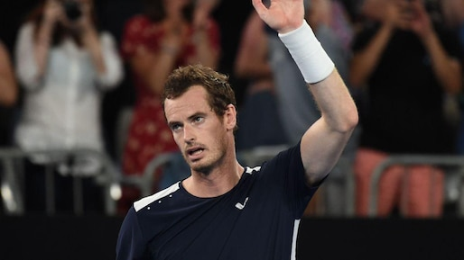 Andy Murray s'incline après un combat de 5 manches