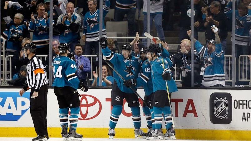 Nashville Predators v San Jose Sharks - Game One