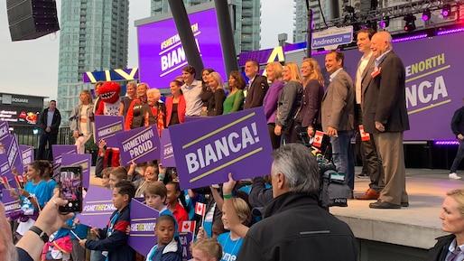 Bianca Andreescu reçoit les éloges de Justin Trudeau