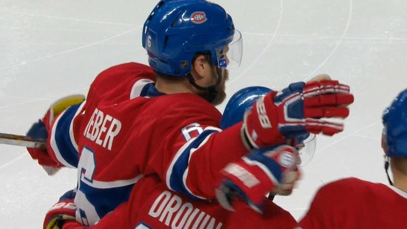 Quel plomb de Weber en supériorité! Fin de la disette à Montréal!