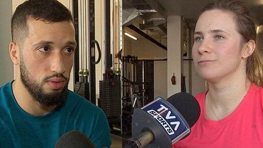 Deux jeunes boxeurs, un même objectif