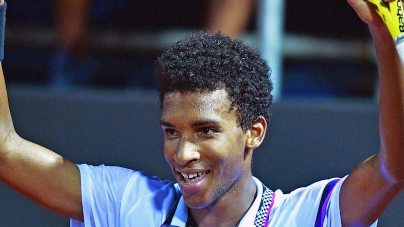 Félix Auger-Aliassime en finale au Brésil
