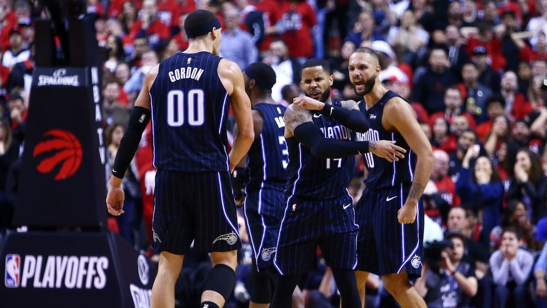 Orlando Magic v Toronto Raptors - Game One