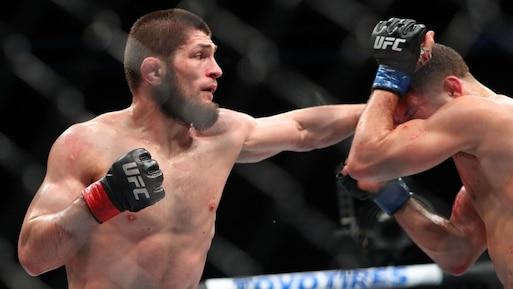 UFC 223: Khabib Nurmagomedov l'emporte et évoque le nom de «GSP»