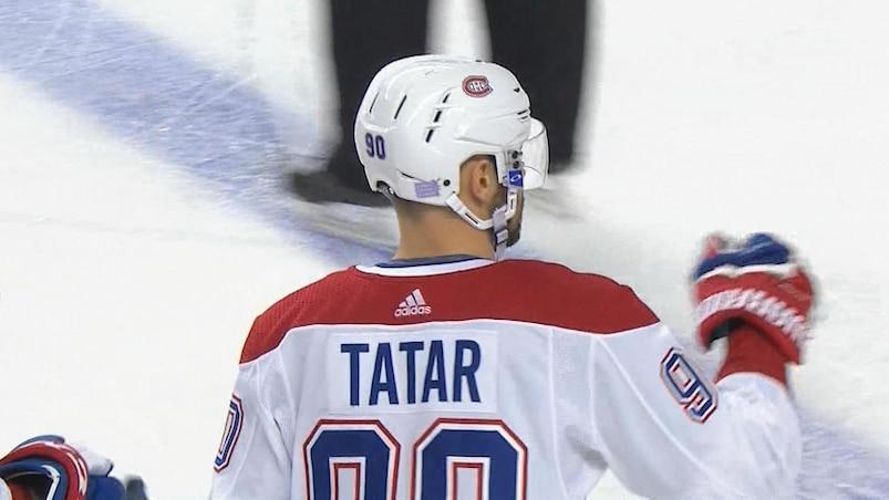 Tomas Tatar ouvre le bal à Calgary